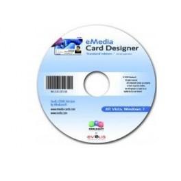 Logiciel de Création de Badges E-Media Card Designer