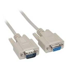 Câble de connexion imprimante série RS232 DB9/DB9 - F/F