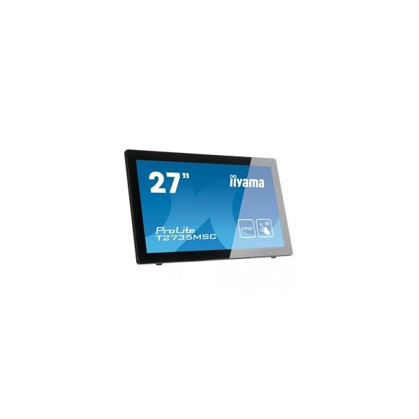 Ecran tactile iiyama prolite 27 pouces t2735 495 ht for Ecran nec 27 pouces