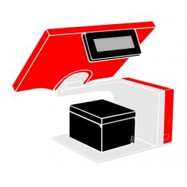 Pack Caisse Tactile AURES Sango 1047 15 pouces (TPV + Imprimante tickets thermique)