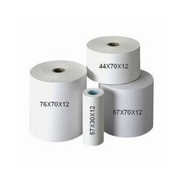 Consommables - Bobines papier 2 plis qualité sup 76x70x12