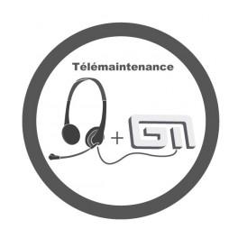 Contrat d'assistance télémaintenance Gestmag + MAJ GestMag Monoposte / 1an