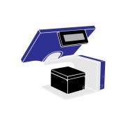 Pack Caisse Tactile AURES Yuno 15 pouces i3 Wide (TPV + Imprimante tickets thermique)