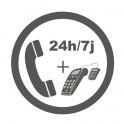 Contrat d&#39Assistance Téléphonique 24h/7J tous TPE