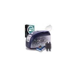 Pack ZEBRA P120i + Consommables + Kit Nettoyage + Logiciel