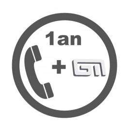 Contrat d'Assistance téléphonique + MAJ GestMag Monoposte / 1an