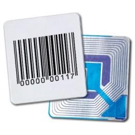 Étiquettes autocollantes Antivol DIMAG 4 x 4
