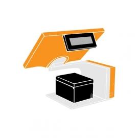 Pack Caisse Tactile AURES Sango i3 15 pouces (TPV + Imprimante tickets thermique)