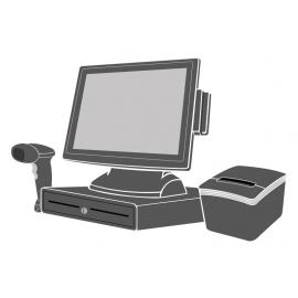 Pack Caisse Tactile SEYPOS 335 15 pouces (Sans logiciel d\'encaissement)
