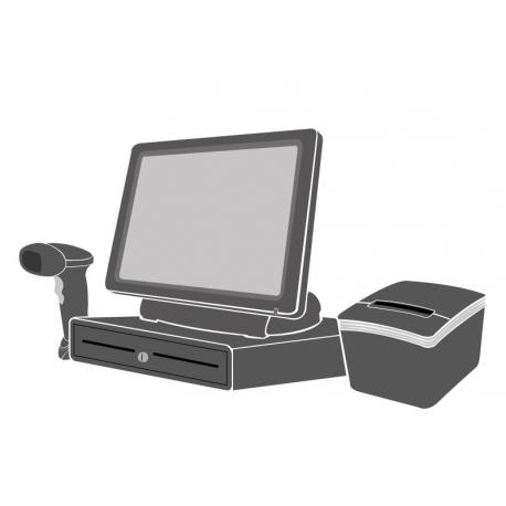 Pack Caisse Tactile SEYPOS 275 15 pouces (Sans logiciel d'encaissement)