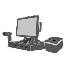 Pack Caisse Tactile SEYPOS 485 15 pouces (Sans logiciel d\'encaissement)