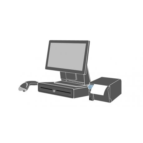 Pack Caisse Tactile ELOTOUCH 15E2 15 pouces (Sans logiciel d'encaissement)