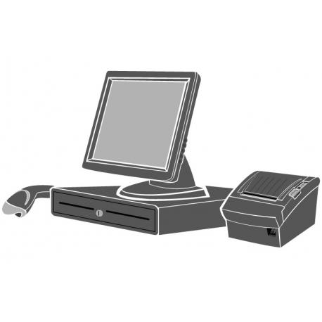 Pack caisse tactile économique (Sans unité centrale ni logiciel d'encaissement)