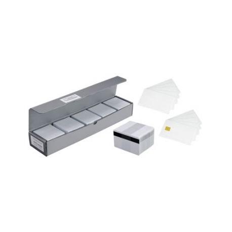 100 cartes à puces PVC Premium 30mils (0,76mm)