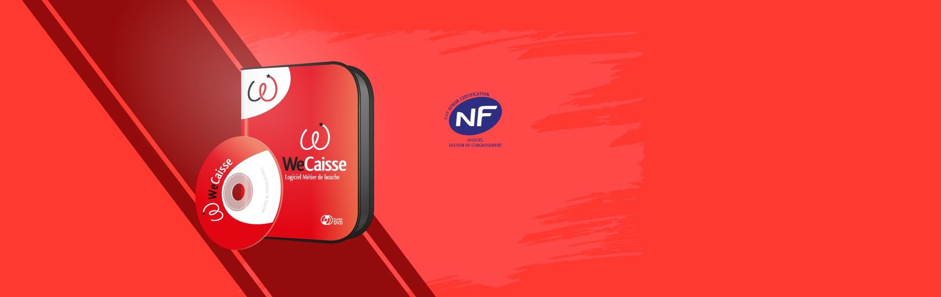 Logiciel de caisse certifié NF525 et NF203 Wecaisse