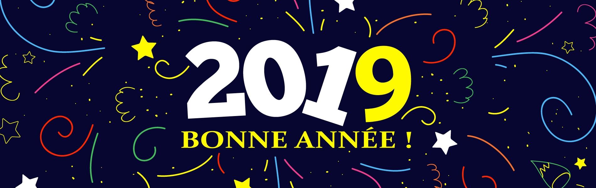 Nouvelle année 2019 !
